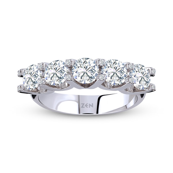 FOREVERMARK FIVE STONE RINGS