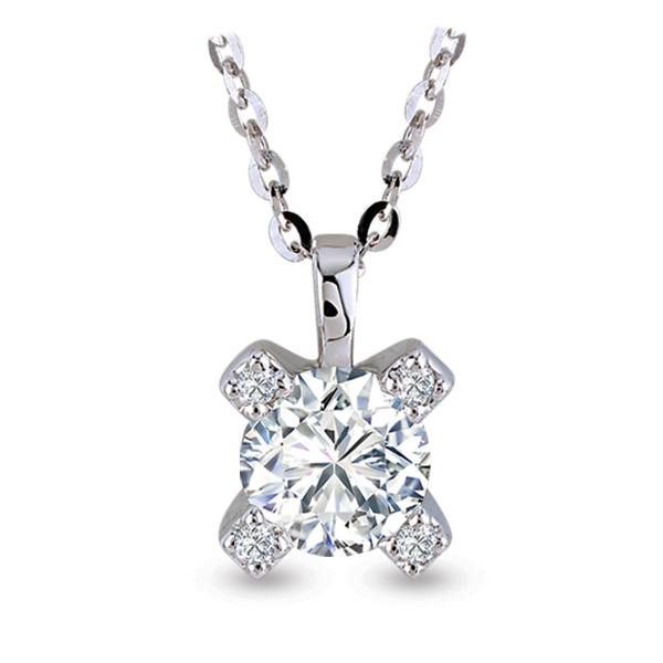 FOREVERMARK SOLITAIRE NECKLACES