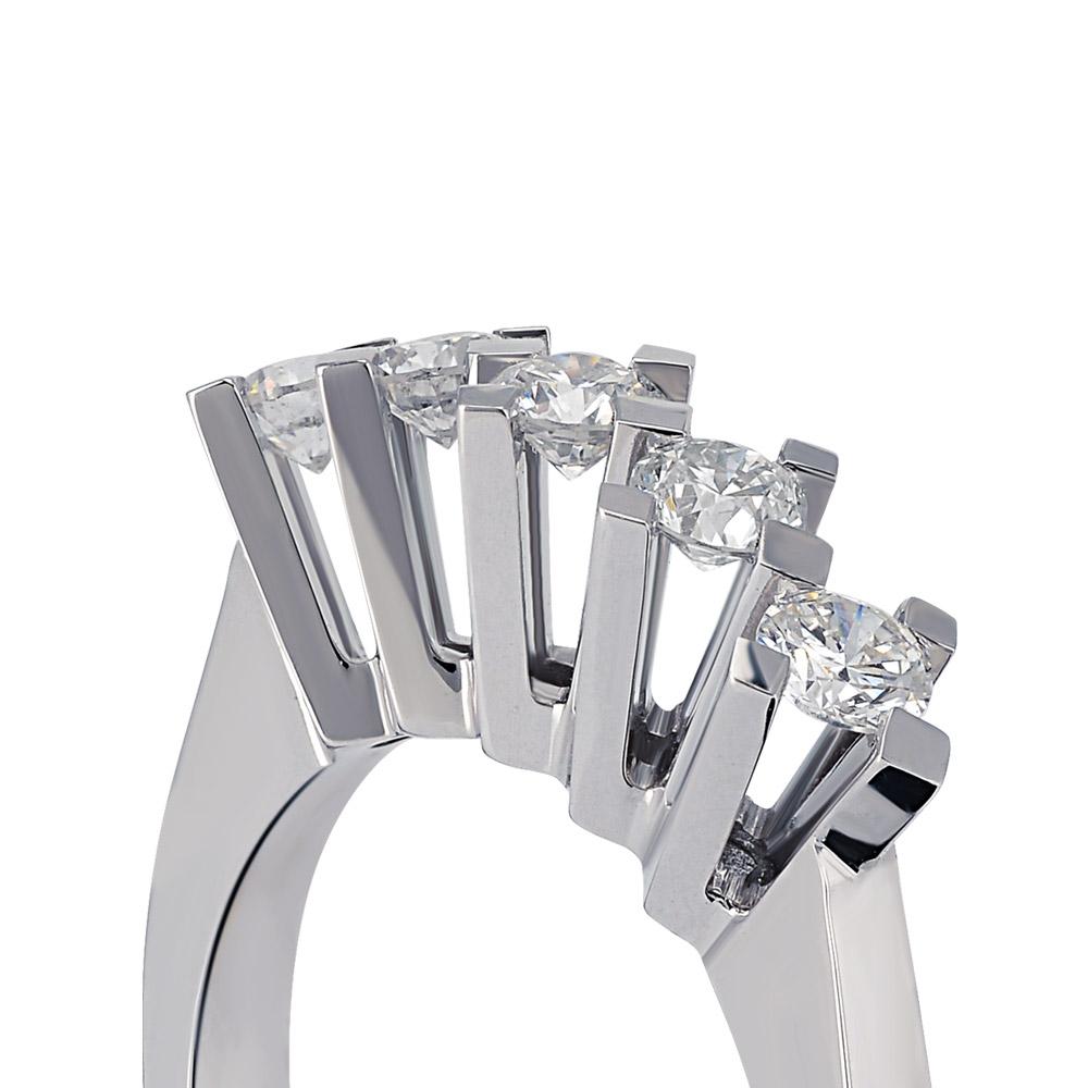 0.50 ct Five Stone Diamond Ring