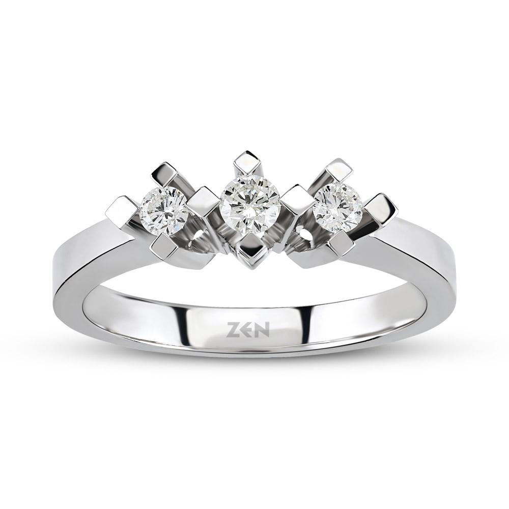 Tria Diamond Ring