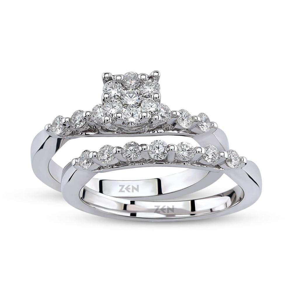 Twins Dual Reina Diamond Ring