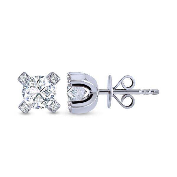 Forevermark Cornerstones Solitaire Diamond Earstud