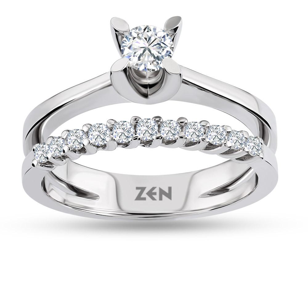 Forevermark Double Diamond Ring Diamond Ring