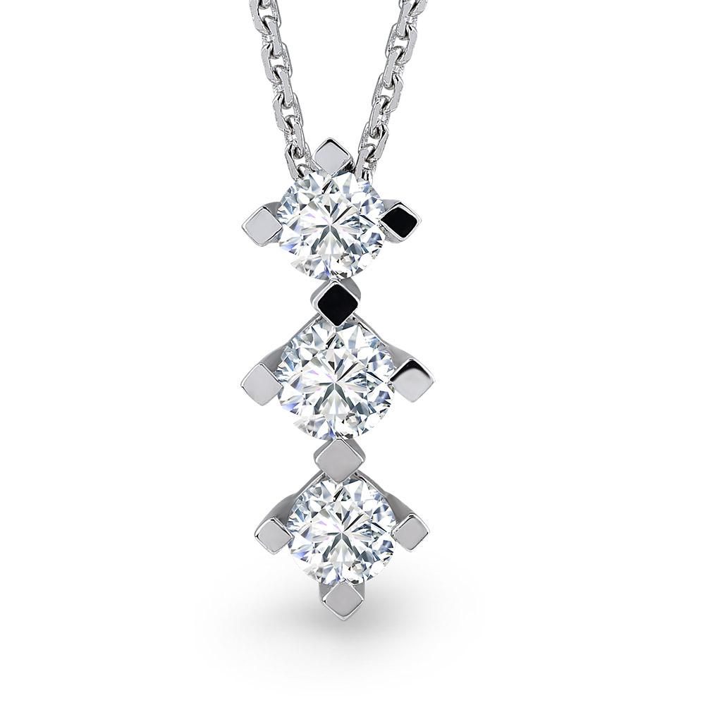 Forevermark Tria Diamond Necklace