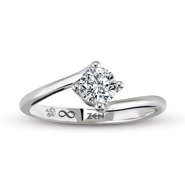0.40 ct Solitaire Engagement Ring