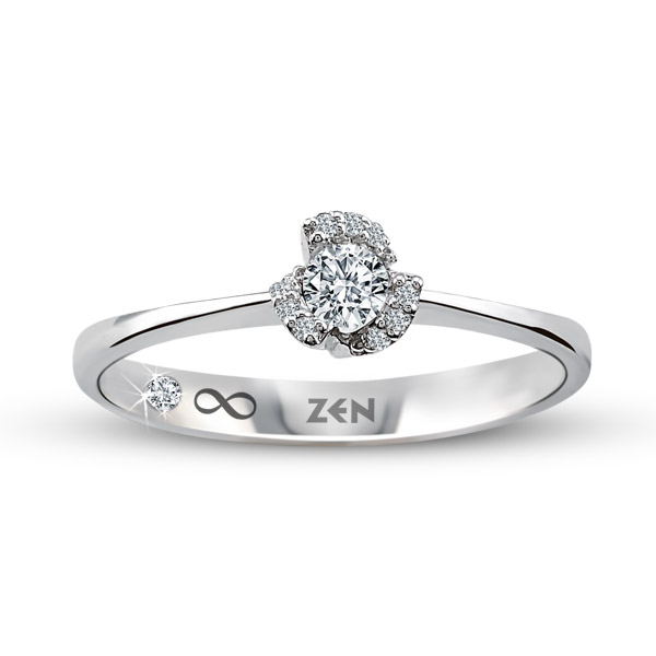 0.15 ct Solitaire Engagement Ring