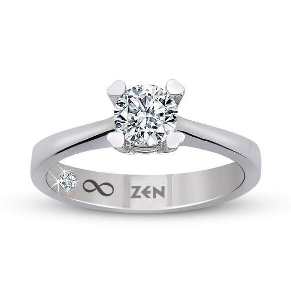 0.30 ct Solitaire Engagement Ring