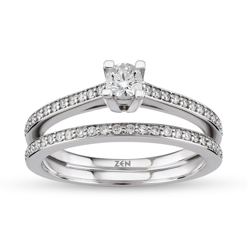 0.41 ct Solitaire Engagement Ring