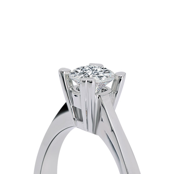 0.18 ct Solitaire Engagement Ring