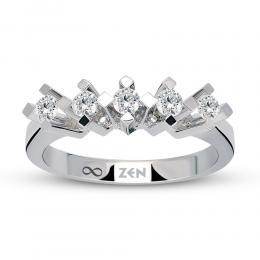 Five Stone Diamond Ring