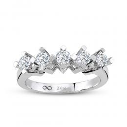 Forevermark Five Stone Diamond Ring
