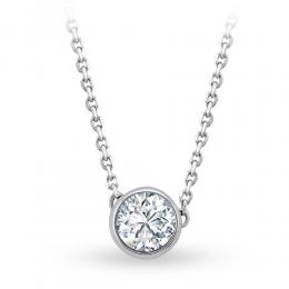 Forevermark Tribute Solitaire Diamond Necklace