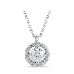 Forevermark Solitaire Diamond Necklace