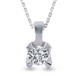 Solitaire Diamond Necklace